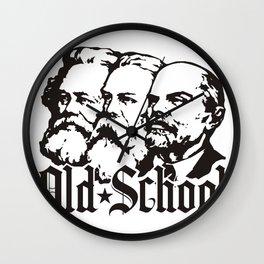 Old School Communism Wall Clock
