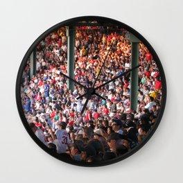 Fenway Filled Wall Clock
