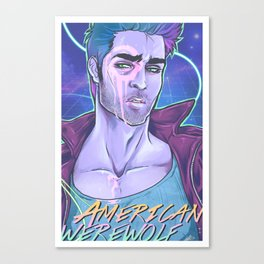 American Werewolf Canvas Print