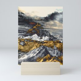 Gold Mountain Mini Art Print