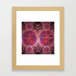 Decorative artwork with amazing curls, swirls and patterns Framed Art Print