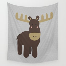 Edward the Moose Wall Tapestry