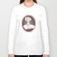 marylin monroe Long Sleeve T-shirts featuring Sparkling Marylin by Zazie-bulles