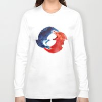 christ Long Sleeve T-shirts featuring Ying yang by Robert Farkas