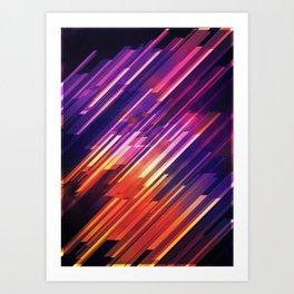PONG - Pattern Art Print