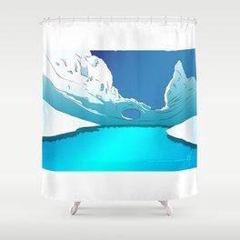 Aunt Arc Tica Shower Curtain