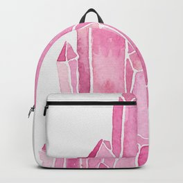 Rose Quartz Watercolor Backpack