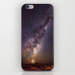 Rising Venus and the Milky Way Down Under iPhone Skin