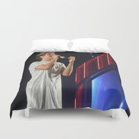 niall horan Duvet Covers featuring Niall Horan by Halle