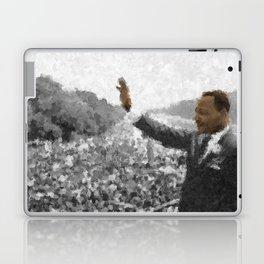 Martin Luther King Junior Wall Art Portrait, Speech, Home Decor, Dorm Decor, Freedom, Laptop & iPad Skin