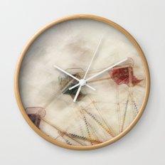 Round n round we go Wall Clock