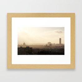 Paris shines through Framed Art Print