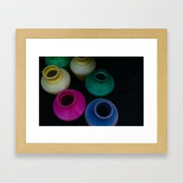 Colors of Water Framed Art Print