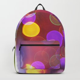Bright and Blurred City Lights Backpack