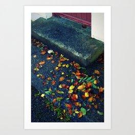 Autumn at my door Art Print