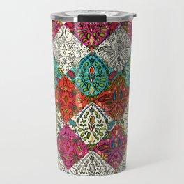 aziza patchwork Travel Mug