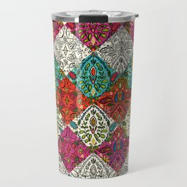 aziza patchwork Travel Mug