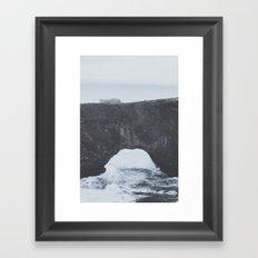 Dyrhólaey Arch, Iceland Framed Art Print