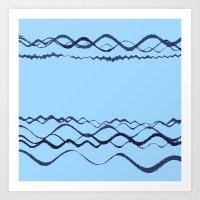 1380249359 in blue Art Print