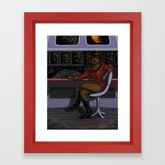 Lt. Uhura Framed Art Print