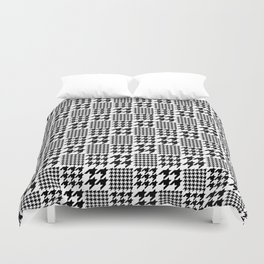 C13D Checkered tooth Duvet Cover