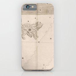 Johann Bayer - Uranometria / Measuring the Heavens (1661) - 37 Canis Minor / Little Dog iPhone Case
