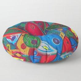 Tribute to the Decedents of the Goddex Kunta Floor Pillow