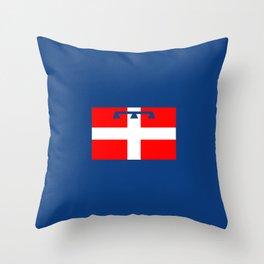flag of Piedmont Throw Pillow