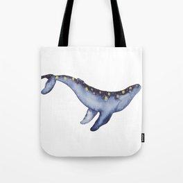 Magical Humpback Whale Tote Bag