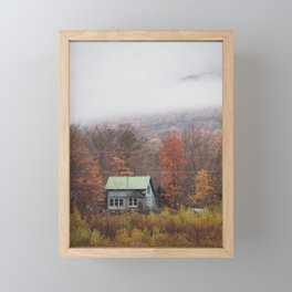 Abandoned House, Grafton Notch Framed Mini Art Print