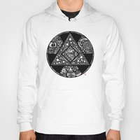 alchemy Hoodies featuring Altered Alchemy by Christina Rivera-Scott