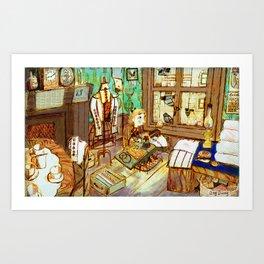 Sewing Art Print