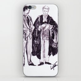 Barrister  and  Solicitor                by Kay Lipton iPhone Skin