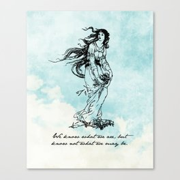 Hamlet - Ophelia - William Shakespeare Canvas Print