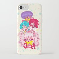 jem iPhone & iPod Cases featuring fanart Jem and the Holograms by Lady Love
