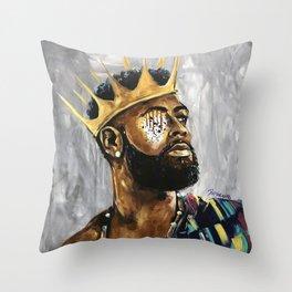 Naturally King III Throw Pillow
