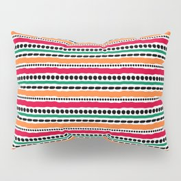 Lines and Dots 3 Pillow Sham