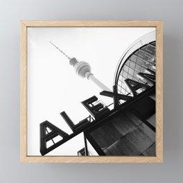 Berlin Alexanderplatz Station Framed Mini Art Print