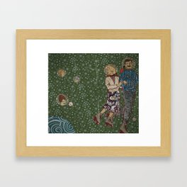 Space Walk Framed Art Print