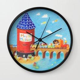 Magic Mailbox Wall Clock