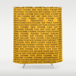 The Curses of Wall Street Shower Curtain