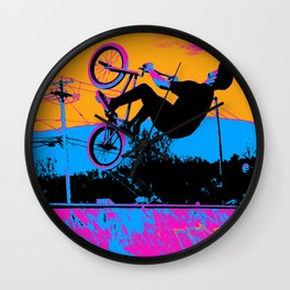 BMX Back-Flip Wall Clock