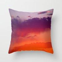 arizona Throw Pillows featuring Arizona by Laura Santeler