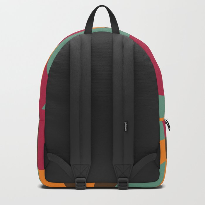 Abstract Graphic Art - Roller Coaster Backpack