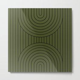 Arch Symmetry X Metal Print