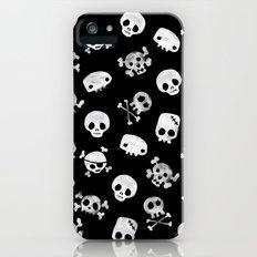 Cute Skull Slim Case iPhone (5, 5s)