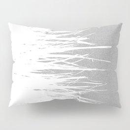 Concrete Fringe White Side Pillow Sham