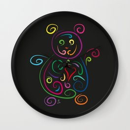 The bear - The heart of Esperanza Wall Clock