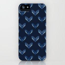 Batik Heart Motif Indonesian Style Hand Drawn iPhone Case