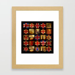 The British are coming Framed Art Print